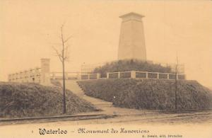 Waterloo , Belgium , 00-10s ; Monument des Hanouziens