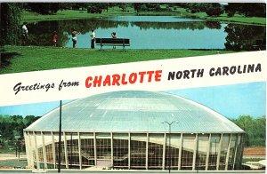 Chrome STADIUM SCENE Charlotte North Carolina NC AH8767