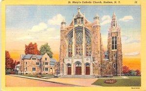 St Mary's Catholic Church Hudson, New York