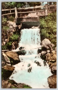 Taylors Falls MN Well Handcolored: Dalles of the St Croix Cascade c1910 Postcard