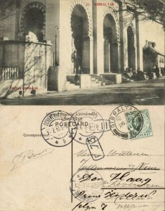 Gibraltar, English Cathedral (1911) Postcard