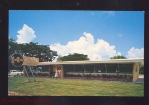 AVON PARK FLORIDA GRIFFIN'S RESTAURANT 1950's CARS VINTAGE