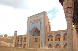 Uzbekistan Khiva The allakulikhan Madrasah Die Mederesse Allakulichan