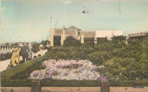 1936 Jones Beach State Park New York hand colored postcard Albertype 13236