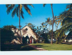 Pre-1980 CHURCH SCENE Lahaina Maui Hawaii HI hs7563