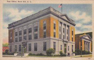 Post Office , ROCK HILL , South Carolina , 30-40s #1