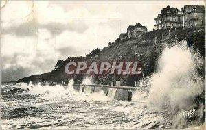 Modern Postcard 48 Granville (handle) disassembled sea