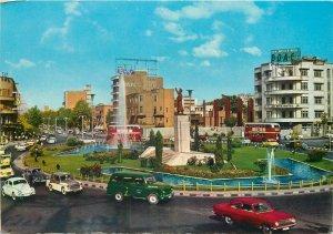 Iran Tehran Ferdousi Square postcard