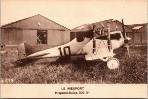 Aeroplane /Airplane LE NIEUPOST - HISPANO -SULZA 300  French Aviation Postcard,