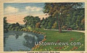 Pawtucket, RI, Post Card;  Pawtucket, Rhode Island, Postcard -ri_qq_1119