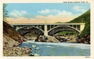 VT - Bellows Falls. Vilas Bridge