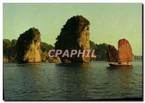 Postcard Modern Lang Quang Ninh Vietnam