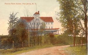 Pocono Farm Annex Port Jervis, New York Postcard