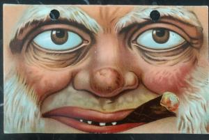 Mint Vintage USA Picture Postcard PPC The Halloween Smoking Monster