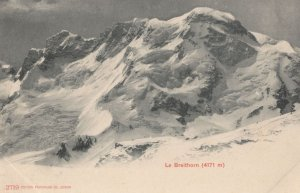 Le Breithorn Switzerland Postcard