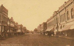 LA GRANDE , Oregon, 1912 ; Adams Avenue