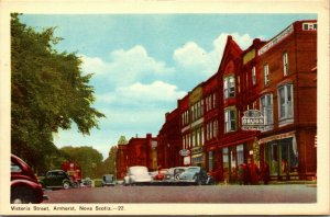 Lot of 4 : AMHERST,  NOVA SCOTIA CANADA POST OFFICE UNION UNPOSTED POSTCARD