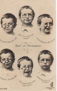 RP: Child with Glasses , Le Sujet Du Photographe , 00-10s