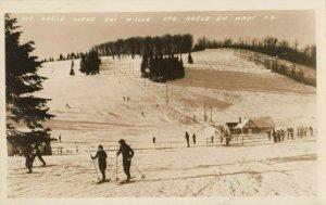 RP: STE. ADELE, Quebec, Canada, 1930-1940s; Lodge Ski Hill
