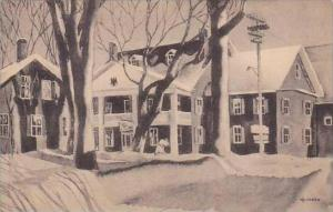 Vermont Stowe The Green Mountain Inn Albertype 1952