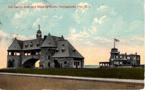 Narragansett, Rhode Island - The Casino & Reading Room on the Pier - in 1915