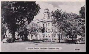 Iowa SigourneyKeoukCountyCourt house DexterPressArchives   ensen D.D. Paster ...