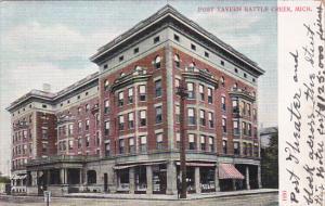 BATTLE CREEK, Michigan, 1900-1910´s; Post Tavern
