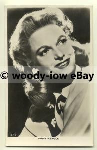 us0049 - Film Actress - Anna Neagle - postcard