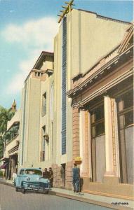 1940s Una De Las Entradas Club Internacionals San Salvador postcard 1375