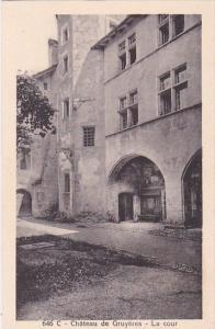 Switzerland Chateau de Gruyeres La Cour