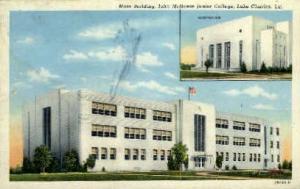 John McNeese Junior College  Lake Charles LA Unused