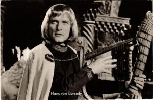 CPA HANS von BORSODY FILM STAR (601012)