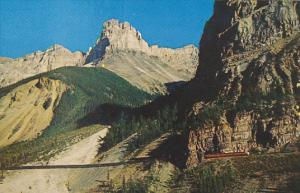 Cathedral Peak and The Canadian Yoho National Park Canada