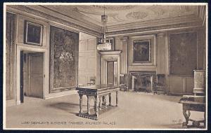 Lord Darnleys Chamber Holyrood Edinburgh unused c1920's