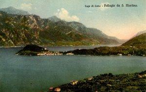 Italy - Bellagio, Lago di Como. Viewed from San Martino