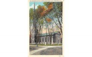 Old Reformed Dutch Church Kingston, New York