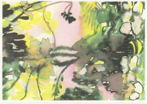 Julie Moss Just A Glimpse Cornwall Artist Painting Postcard
