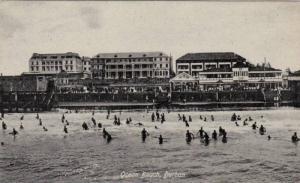 Ocean Beach, Bathing, Durban, South Africa, 1900-1910s