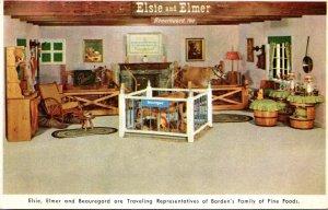 Advertising Elsi Elmer & Beauregard Borden's Family Of Fine Food