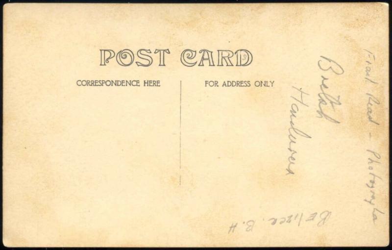 british honduras, BELIZE, Unknown House with Garden (1910s) Frank Read RPPC