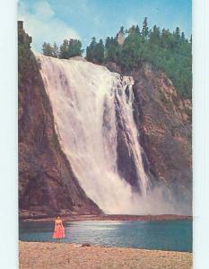 Unused Pre-1980 TOWN VIEW SCENE Quebec City QC p9088