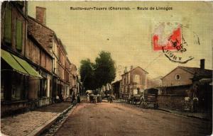 CPA Ruelle-sur-Touvre (Charente) - Route de Limoges (519102)