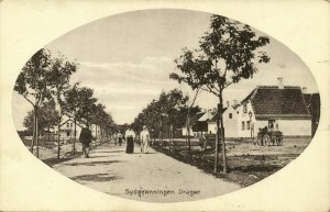 denmark, DRAGØR, Sydgrønningen (1910s) Postcard