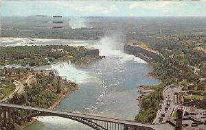 Aerial view Niagara Falls 1965