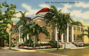 FL - Orlando. First Baptist Church