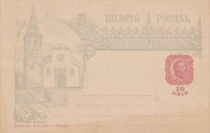 PORTUGAL, 1900-1910's; Blank Card
