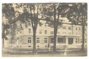 South Hall Dormitory, Farmington, Maine, 1910-1920s