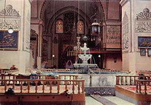Turkey Yesil Bursa Interior of Ulu Cami Fountain Postcard
