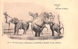 Barnum et Bailey Elephants Unused