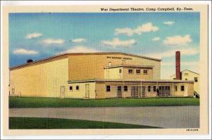 War Dept Theatre, Camp Campbell KY